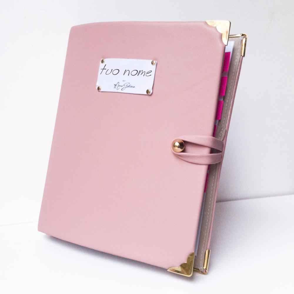 Agenda Planner 2017: personalizzabile rosa