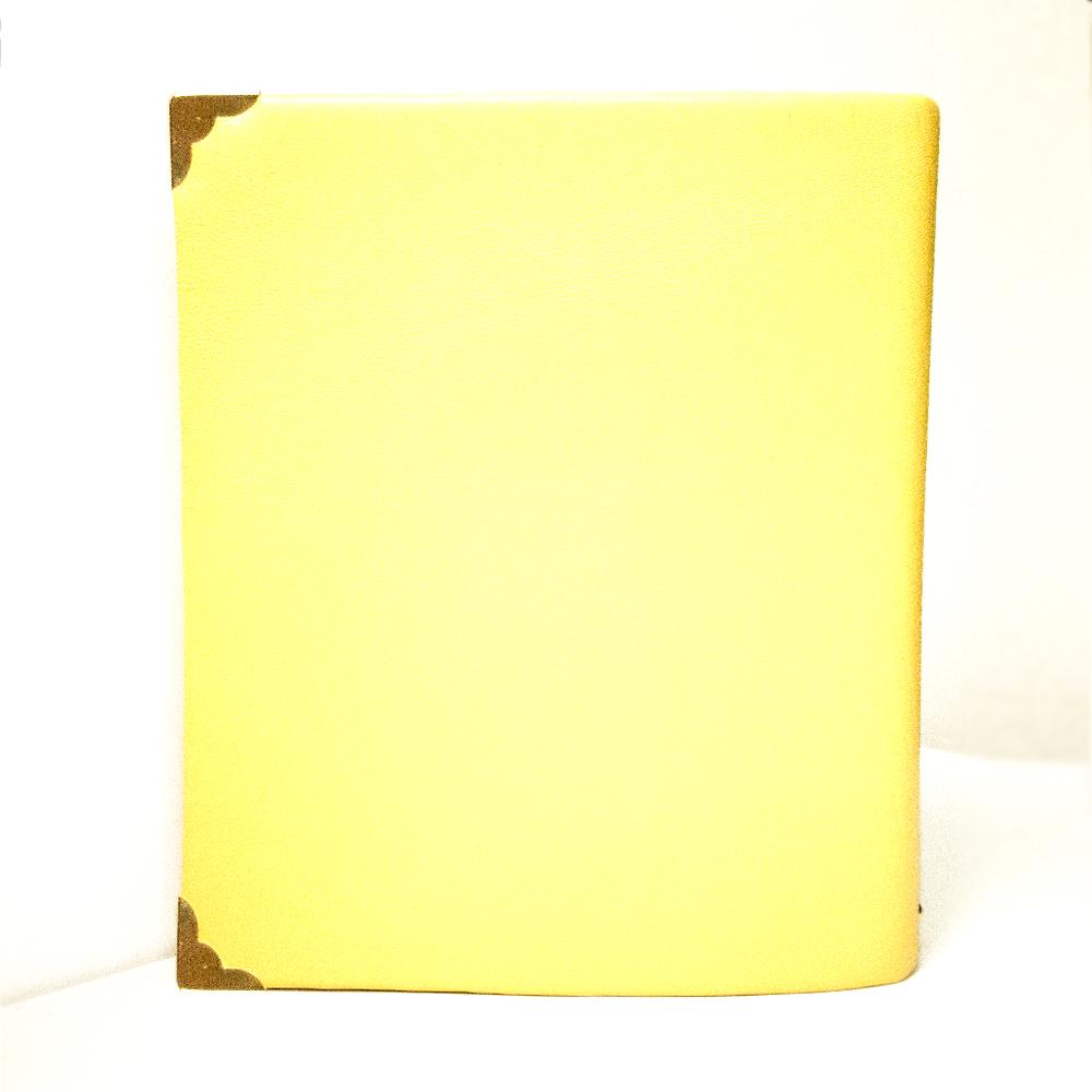 agenda gialla personalizzata