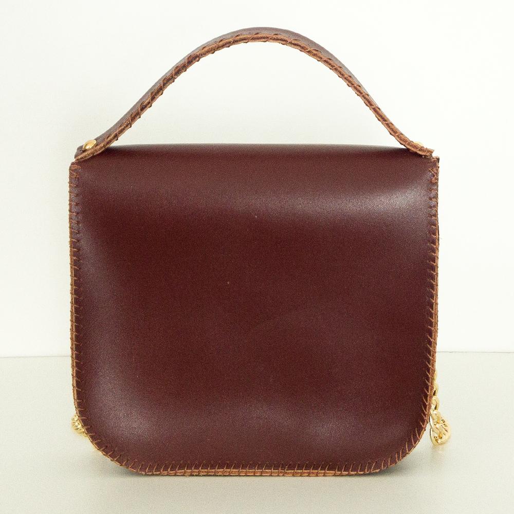 Mini bag in cuoio: artigianale | Made in Italy