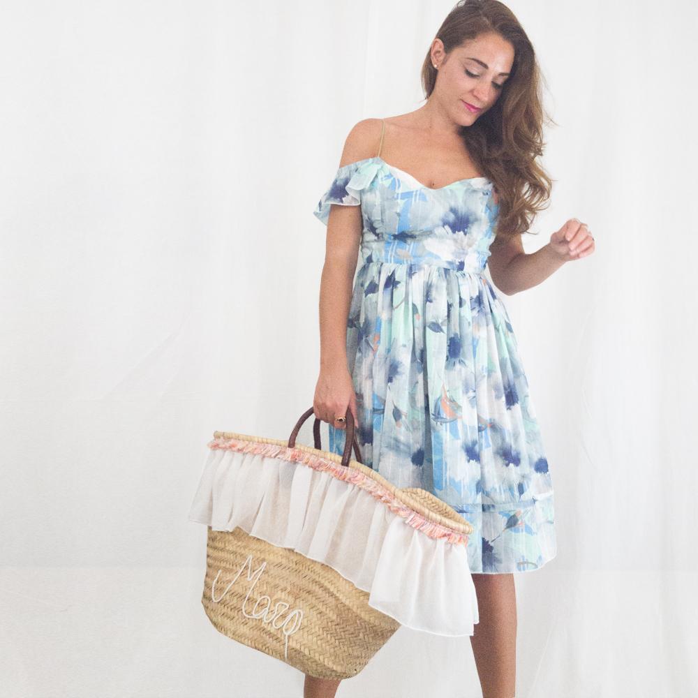 Vestiti con scollo alla Bardot | fantasia floreale| Made In Italy