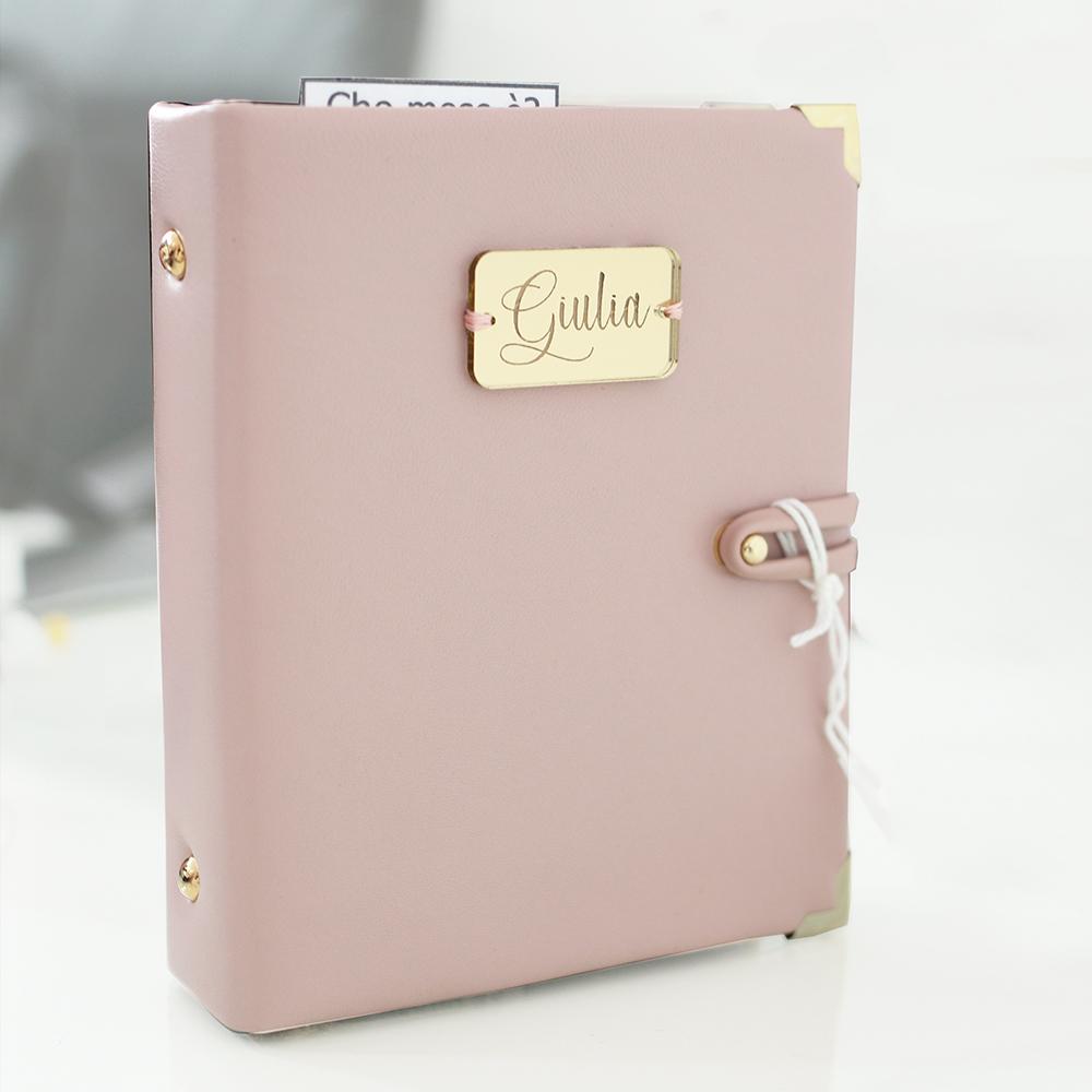 agenda rosa personalizzata